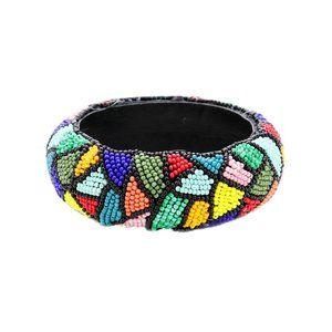 Jewelry - Gorgeous Colorful Beaded Bangle Bracelet
